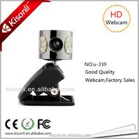 USB Webcam Camera 6 Led Drivers Free Laptop With Microphone