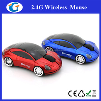 2.4G race car computer mouse with logo