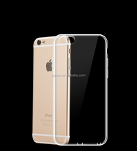 Hot!!! Christmas Accessories New Products Protective Cover for Iphone 6 Tpu Clear Case
