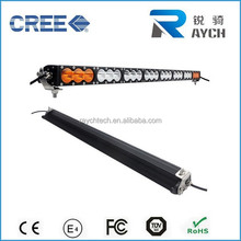 "40"" 240W amber led light bar Offroad Car accessories off road led light bar atv led light bar"