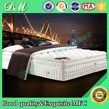 Simplicity and luxury fabric nature latex pillow top pocket spring mattress