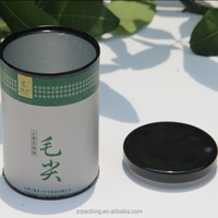 Custom paper antique tea cans
