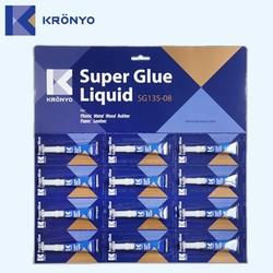KRONYO epoxy glue for plastic remove super glue from plastic 502
