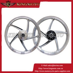 Supermoto 17 Inch High Strength Aluminum CNC Machined CRF Motorcycle Wheel Rims for KM001