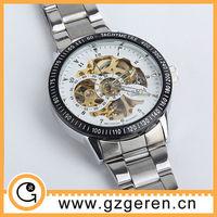 watch unique design stainless steel man wrist watch dial case183z