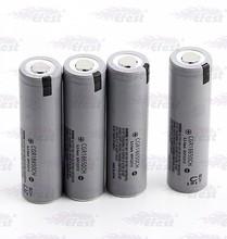 18650 2250mAh 3.7v High Drain battery gray battery with flat top