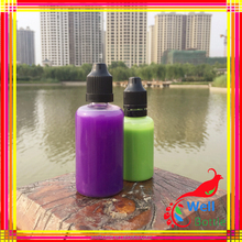 fresh round vapor oil pet bottle square pet e liquid bottle with childproof tamper proof dropper
