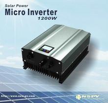strong load abilty 12v 24v 48v 1kw - 1.2kw Solar panel micro inverter