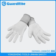 GuardRite Brand Nylon Lined CE Certified PU Coating Antistatic Gloves A-3012