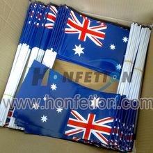 nacional de <span class=keywords><strong>banderas</strong></span> de papel de plástico con palo