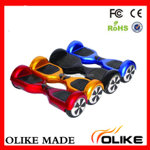 Multi-color lithium battery 2 wheel electric kick scooter 6.5 inch for children outdoor activities
