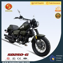Top Quality 250CC Chopper Cruiser Motorcycle SD250-G