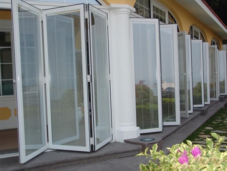 Puertas Plegables Aluminio Puerta Plegable Cerrada With