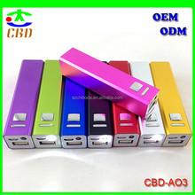 (Hot )Manufacturer best price mobile power bank 2600mah,portable power bank biyond