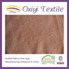 94% polyester 6%spandex weft knitting plain velvet fabric wholesale