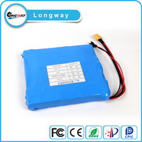 10000mah li-ion 18650 battery pack for unicycle