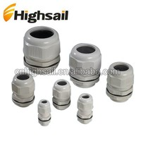 Black or Light Grey PG7 Nylon Cable Gland