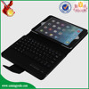 Fashion flip stand black shockproof pu leather flip case for ipad mini2