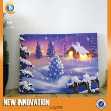5L Fibre Optic picture frame, picture light, picture frame led light box, canvas picture with led light