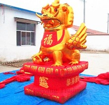 Chinese Mythical Creature Pixiu Inflatable Cartoon Characters, Large Inflatable Animals
