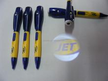Laser logo projector pen/Plastic LED projector pen/Custom logo pen