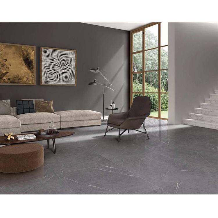 Hotsale Iran Abgeschliffener rutschfester Pietra-grauer Marmor 24 * 24 Fliesen Preis Malaysia