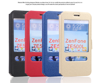 China Manufacturer for asus zenfone 2 5.0 inch leather case flip cover for asus zenfone 2 smart case