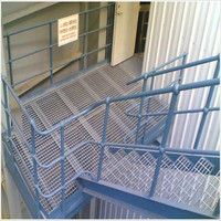 Laminate outdoor steel grating composit stair tread (Professional factory )