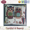 China manufacturer owl pattern tapestry cushion covers wholesale