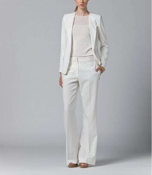 Excellent Popular White Pants Suit WomenBuy Cheap White Pants Suit Women Lots