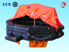 CCS EC approved solas throw over type inflatable life raft