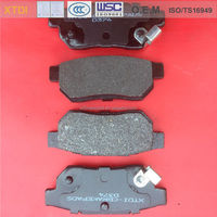 OEM actros brake pads (43022-SE0-S01) for ACURA HONDA - XTDI