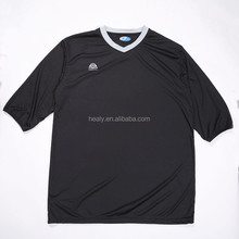 oem odm black and white soccer jersey