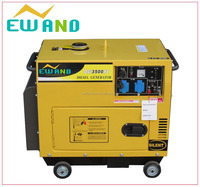 diesel generating set in hot sale with high quality (silent type)3-10KW
