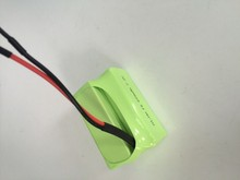 Factory price nimh rechargeable battery 7.2v f6 800mah nimh battery pack