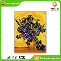 China exporter diy diamond decoratve beautiful pictures for fabric painting flower