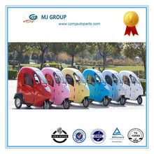 48V / 60 V brushless DC motor three wheels Electric tricycle with closed roof hot sale in Denmark