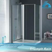 ACIC1801CL Pivot free standing glass shower enclosure cubicle