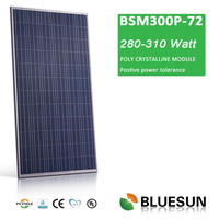Best quality high efficient CE TUV UL poly300W solar power energy