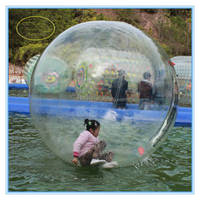 Fwulong inflatable bumper ball zorbing on water,human sized hamster balls,wather ball