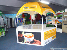 latest advertising products printing dome commercial tent for campaign