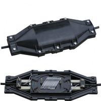 best quality black plastic fiber optic splice closure /box manufactur
