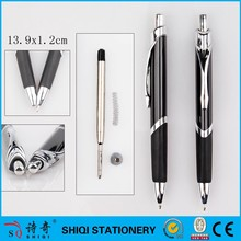 Triangle metal ball pen for promotion gift