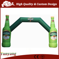 New style inflatable arch bottle, inflatable advertising arch