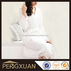 best sale priducts hooded women waffle long dressing gown for hotel