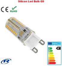 silicon cover mini size high lumen led g9 bulb white/warm white