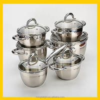 New design stainless steel parini cookware