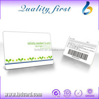 Promotional Gift Color Changing UV Ink PVC Card