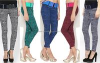 Autumn Style Leggings Women Leopard Print Jeans Elegant Leggings