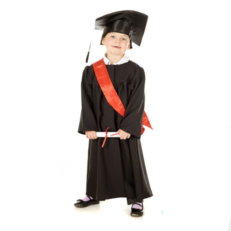 Custom Wholesale Children Graduation Gown - Buy Children Graduation ...